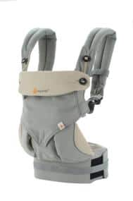 ERGObaby Four Position 360 Baby Carrier (Black only) $102 (reg $160) [AC+FS] @Amazon