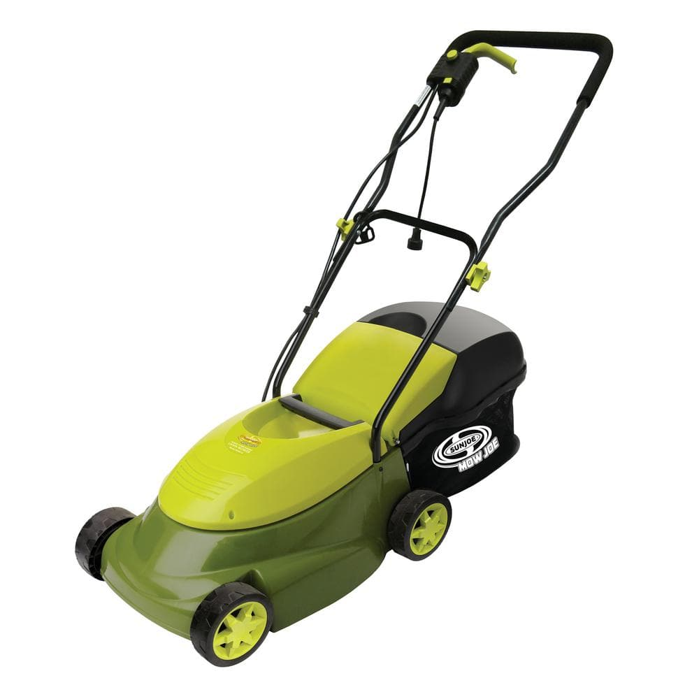 Sun Joe 14 in. 12 Amp Corded Electric Walk-Behind Push Lawn Mower Reconditioned 42.99+ Free S/H $42.99