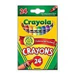 Wholesale: One Case of Crayola Crayons 24 Count (Case Contains 48 Boxes) $18.31 + fs @amazon.com