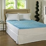 Beautyrest 3-inch Sculpted Gel Memory Foam Mattress Topper $69.99 + ship @overstock.com