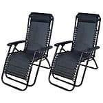 $97 Off (2) Zero Gravity Lounge Chair - Black for $64.90 + free shipping @ebay.com