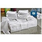 40-Pk. Terry Towels $19.99 + fs @bargainoutfitters.com