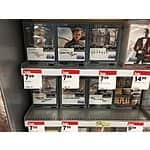 James Bond blurays at Target (skyfall, casino royale, QoS, and others) $7.50-$8.00 with $7 movie cash for spectre