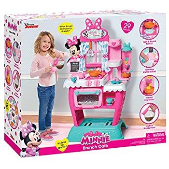 Just Play Minnie's Happy Helpers Brunch Café Roleplay @ amazon  & walmart $39.00 + tax