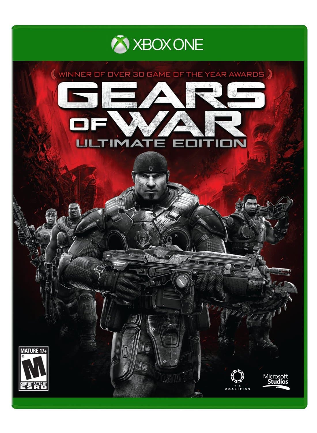 Gears of War Ultimate Edition Xbox One $15 amazon lightning deal
