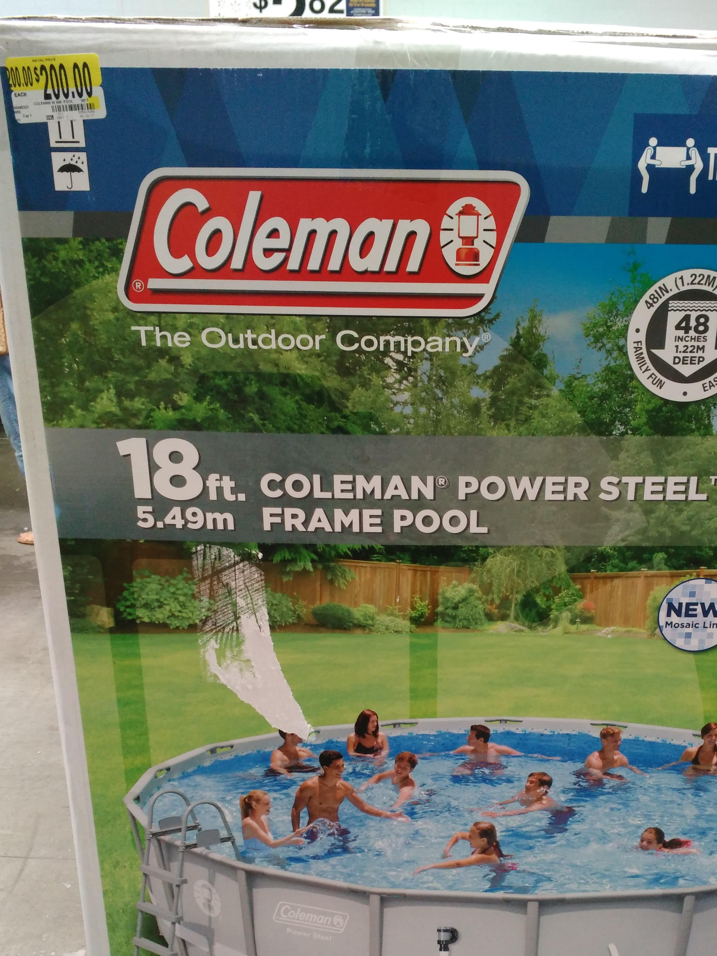 Walmart Pool Clearance YMMV  16x48 Elite Frame $100 / MORE Available