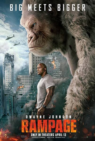 Rampage UV HD or iTunes HD via Movies Anywhere Early Release $6.57 with code JULY