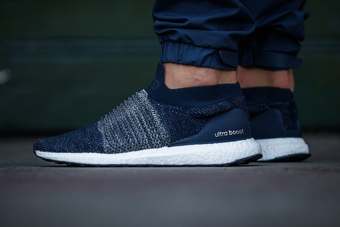 On Feet Adidas Ultra Boost Laceless