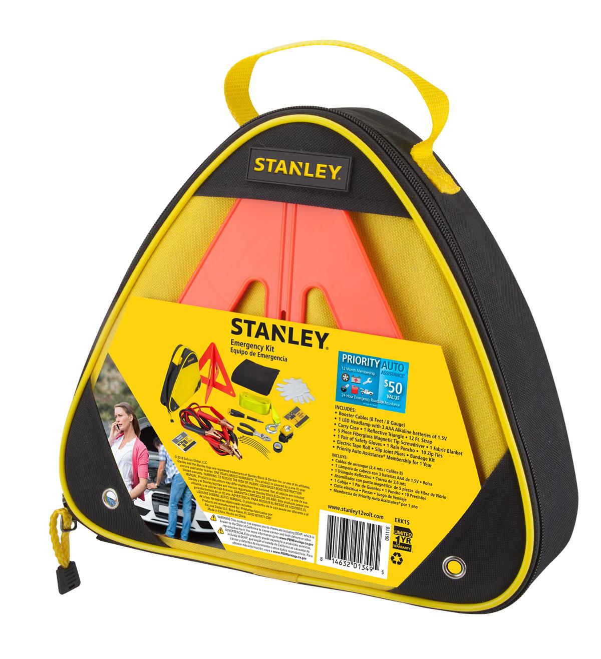 Stanley ERK1S Emergency Roadside kit with Jumper Cables $5 Walmart B&M YMMV