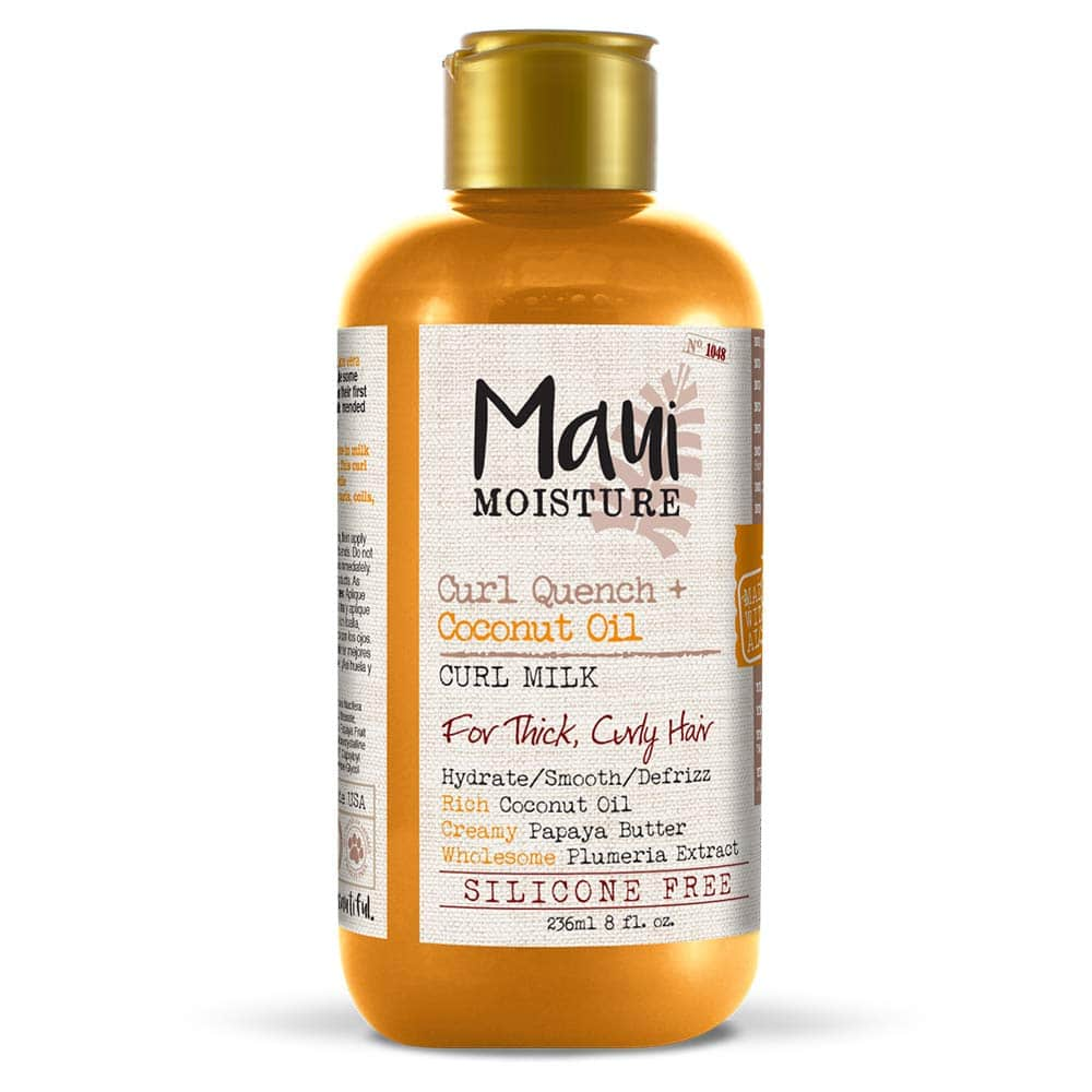 8oz Maui Moisture Curl Quench + Coconut Oil Curl Milk Hair Conditioner $4.85 w/ S&S and coupon + Free S&H  FP deal is Back in stock