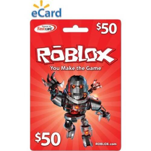 $50 Roblox eCard (Email Delivery) - Slickdeals net