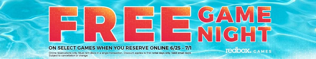 RedBox Free Games Week 6/25-7/1 (no code needed)