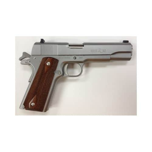 GUN Remington 1911 R1 Stainless .45ACP 5-inch 7rd Walnut Grips  $524 after $75 MIR + $5.99 S/H