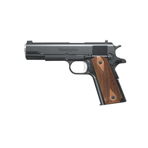 GUN Remington 1911 R1 Black .45ACP 5-inch 7rd Walnut Grips $549 ($449 after MIR) with $5.99 S&H