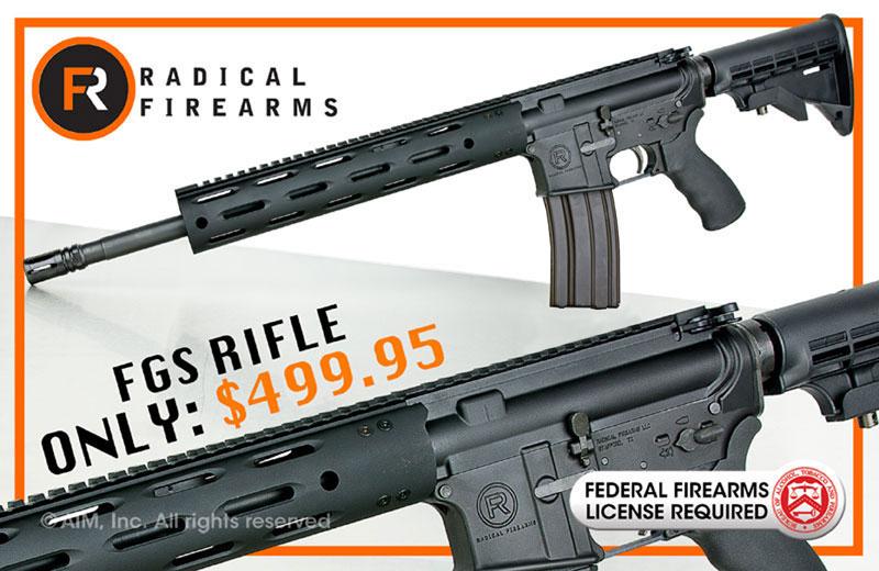 GUN Radical Firearms .300 BLACKOUT FGS-12 Rifle $499.95 shipped