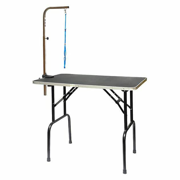 GO PET CLUB Dog Grooming Table with Arm, 48-in - Chewy.com $67.59