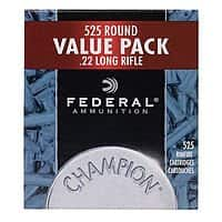 Cabela's: Federal Champion 22lr 525rd box $  28.99 +FS with orders $  49+ Limit 2
