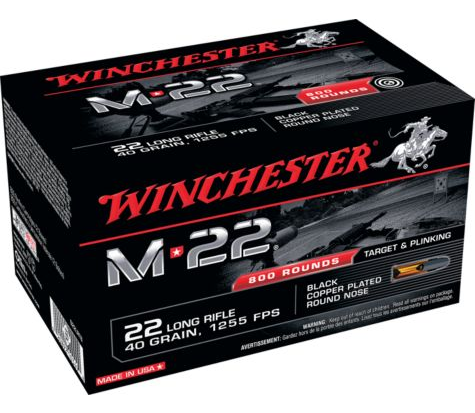 Winchester M22 .22LR Ammunition 800rds $53.99 *Limit 5* FS with $99+