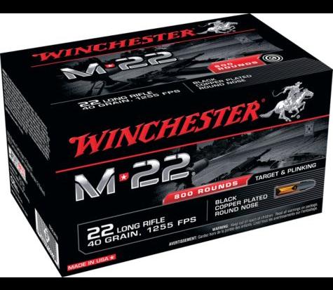 Winchester M22 .22LR Ammunition 800rds $53.99 *Limit 5* FS with $99+