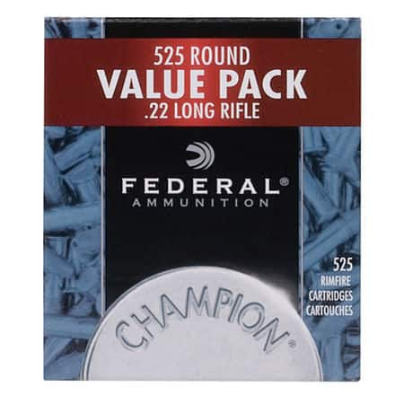 Federal Champion 22lr Ammunition 525rd $24.99+$4.99 ship Limit 1