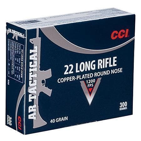 Bass Pro Shop: CCI AR Tactical 22lr 300rds $22.99+FS on orders $50+