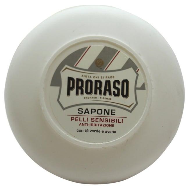 5.2-Ounce Proraso Shaving Soap in a Bowl (Sensitive Skin) $5.00 FS Orders $35+