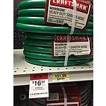 Craftsman Heavy Duty Neverkink 50foot Garden Hose $16.44 (Normally $31.99) - Sears B&M - YMMV