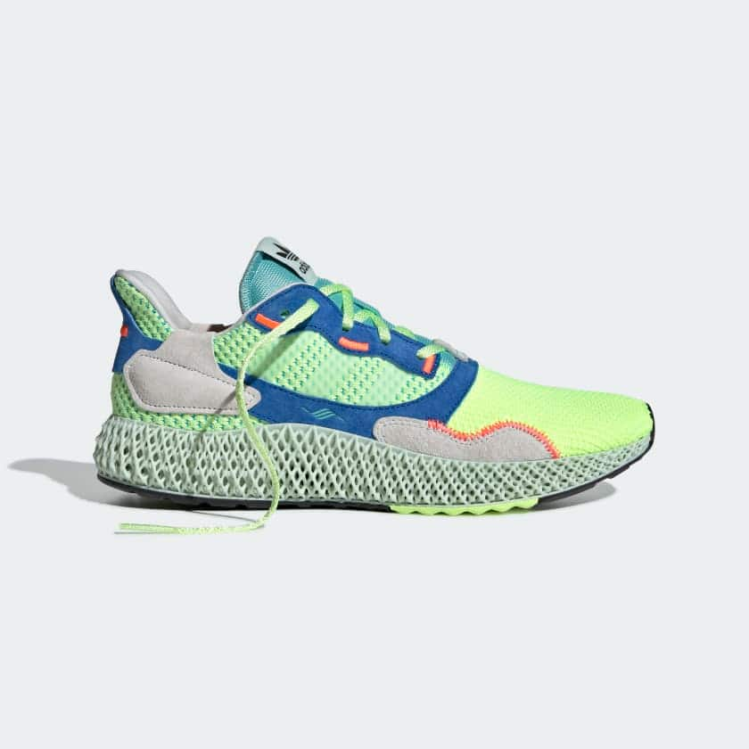 Adidas ZX 4000 4D SHOES $122.5