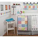 Sumersault Doodle Brights 10-Piece Crib Bedding Set $39.98 + FS @ Walmart