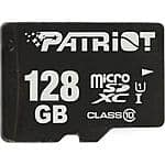 Patriot LX Series 128GB microSDXC UHS-1 Class 10 Flash Card $42.99 + FS @ Fry's