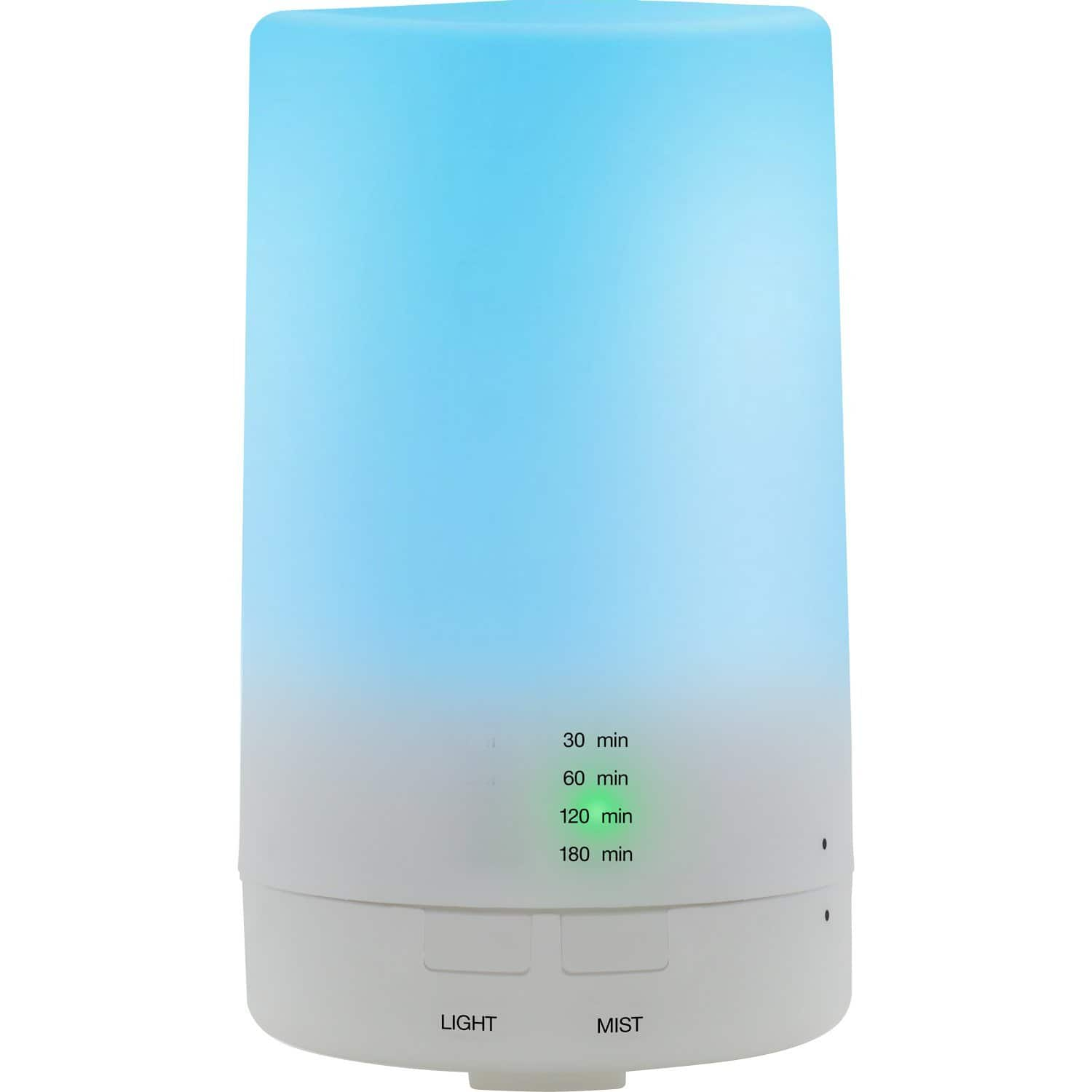 Majestic Pure 125 ml Ultrasonic Aromatherapy Diffuser - Cool Mist Humidifier with 6 Color LED - $8.07