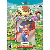 Walmart Deal: Mario Party 10 + Mario amiibo Bundle (Nintendo Wii U Pre-order) $59.99 + Free Shipping @ Walmart