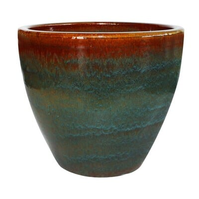 Allen Roth Ceramic Planters Blue/Grey various sizes $6.75 YMMV