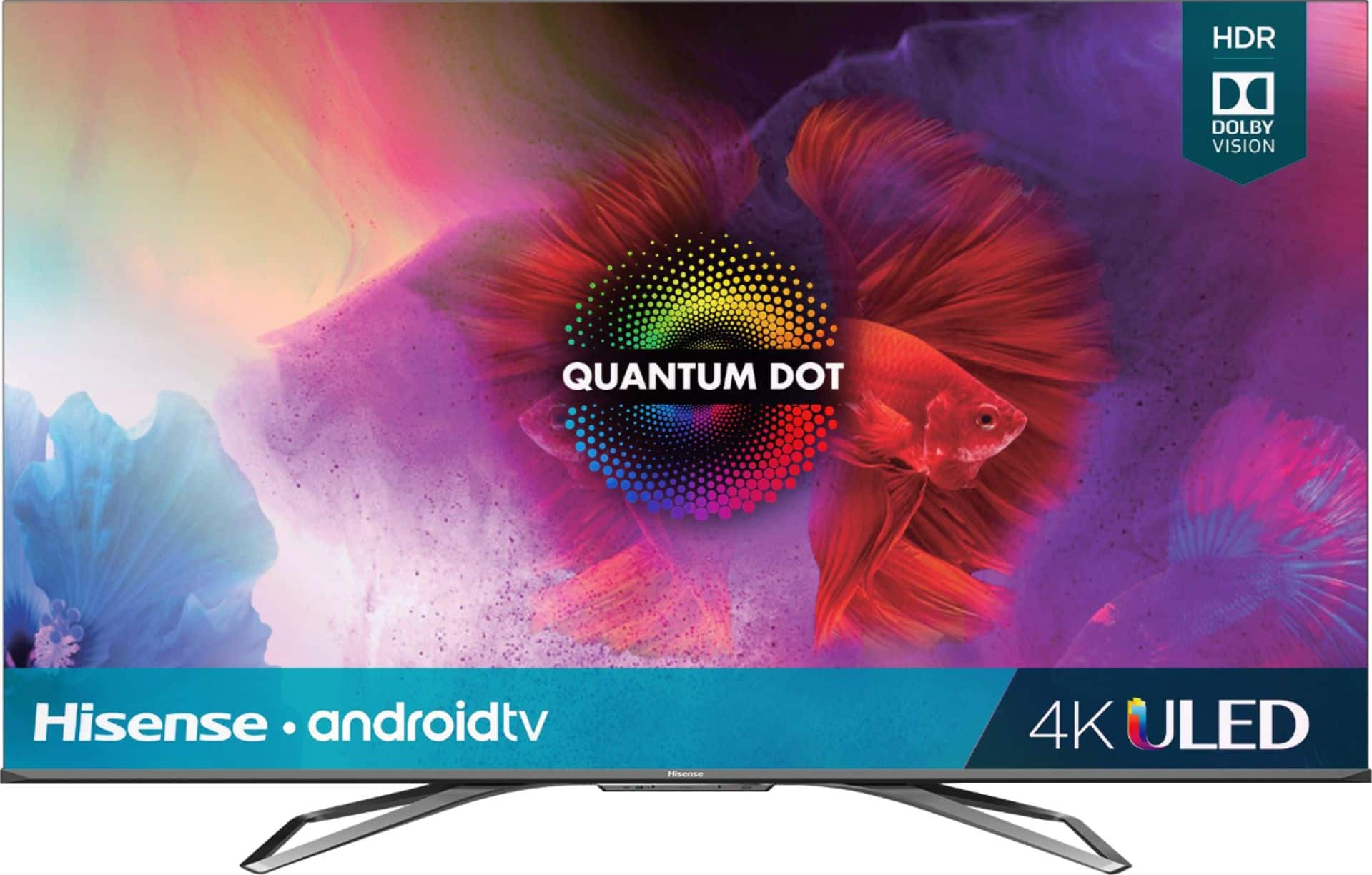 "Hisense 55"" Class H9G Quantum Series LED 4K UHD Smart Android TV 55H9G - $649.99 at Bestbuy"