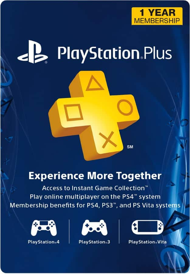 Playstation Plus 12 month subscription $45.59 Instant download Cdkeys.com Usa only