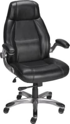 Staples® Torrent™ Bonded Leather Managers Chair, Black ($80 or $55 AC). Reg. $169.99 Valid: Mar. 4-5 @Staples