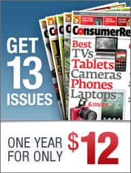 1-Year Consumer Reports Magazine Subscription $12