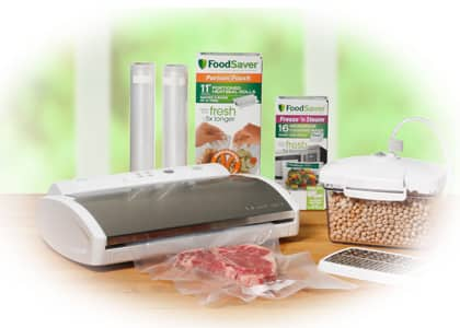 Foodsaver 75% off V2840 Appliance!!  $50 for V2840 + 5 Boxes of Bags + Cheese Grater Container + Free Shipping