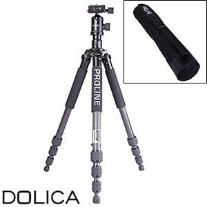 "Dolica ZX600B103 Proline 60"" Carbon Fiber tripod w/ ball head for $79.99 @ Costco.com"