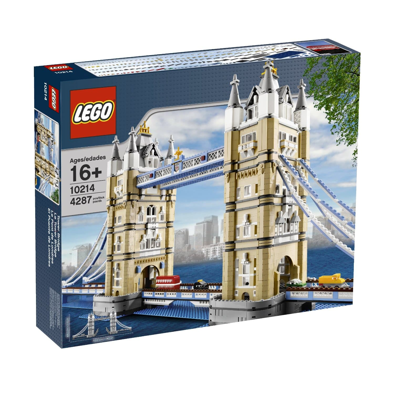 LEGO Tower Bridge $178.50, LEGO Pet Shop $111.50 + Free shipping