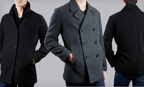 Kenneth Cole Reaction Coats - Pea coat or Car Coat - 59 + Tax - Groupon