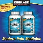 Kirkland Signature Ibuprofen and Allergy Relief: 365-Ct 10mg Antihistamine $15.50, 120-Ct 180mg Aller-Fex Allergy Relief