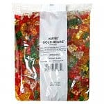 5-lb Bag Haribo Gummi Candy: Gold-Bears, Happy Cola, Twin Cherries, Peaches