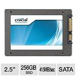 "256GB Crucial M4 2.5"" SATA III MLC Internal Solid State Drive SSD (CT256M4SSD2)"