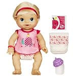 Baby Alive Wets 'N Wiggles Doll with Bonus Crib Life Doll