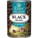 12-pack Eden Organic Black Beans, No Salt Added (15-oz)
