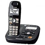 Panasonic DECT 6.0 Plus Expandable Digital Answering System with 1 Handset (KX-TG6591T)
