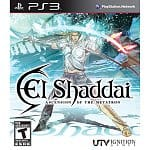 PS3 Games: El Shaddai: Ascension of the Metatron $10, Nier $10, White Knight Chronicles II $16, Child of Eden