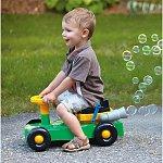 Big Wheel Bubble Blowing Rider Mower