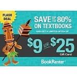 $30 Worth of Textbook Rentals from BookRenter.com (.edu emails only)